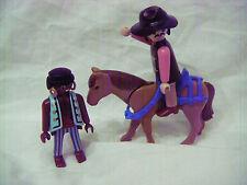 Vintage Playmobil-Shérif/cheval et pirate!