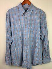 Brooks Brothers Mens Medium L/S Button-Down Multicolor Plaid Flannel Shirt L