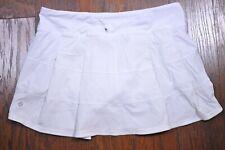 Lululemon Pace Rival Skirt White Women's 10 Tall
