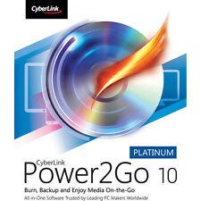 Cyberlink Power2Go Platinum Version 10 cd