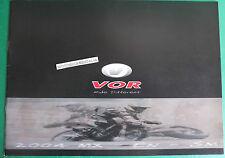 VOR MOTORCYCLES MOTO 2004 MX EN SM  CATALOGO BROCHRE CATALOG DEPLIANT