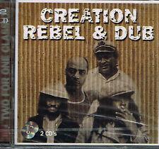 CD Album: creation rebel & dub. culture press 2 cds. B2
