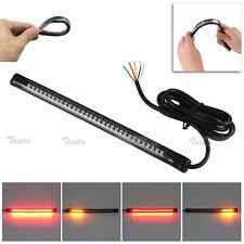 Universal 32 LED Motorcycle Bike Tail Light Strip Rear Brake Stop Turn Signal #U