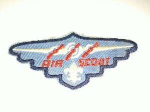 BSA AIR SCOUT OBSERVER UNIFORM RANK PATCH  3 PROPELLERS 1941 - 1949 3rd N SERIES