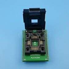 PLCC44 TO DIP44 SA244 Pitch 1.27mm IC Programmer Socket Adapter Clamshell