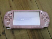Sony PSP 3000 console Blossom Pink Japan B618