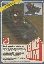 X1019 BIG JIM - Pericolo tra le dune! - Mattel - Pubblicità 1986 - Advertising