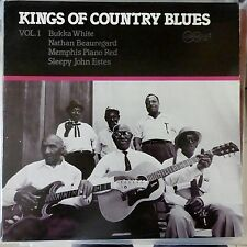 VARIOUS ARTISTS LP KINGS OF COUNTRY BLUES VOLUME 1 USA 1981 VG++/EX