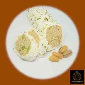 3,38€/100g Lokum Turkish Delight Cocostar Erdnüsse Haselnusscreme 500g