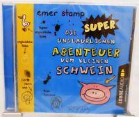 Emer Stamp + Hörspiel CD + Die Super unglaublichen Abenteuer vom kleinen Schwein