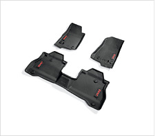 2020-21 JEEP GLADIATOR RED JEEP LOGO RUBBER Floor Mats All Weather OEM 82215626A