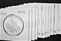 1993 Silver American Eagle BU 1 oz $1 Dollar Coin Uncirculated Brilliant US Mint