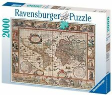 16633 Ravensburger Map of The World From 1650 2000pc Adult Jigsaw Puzzle