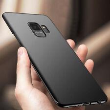 For Samsung Galaxy S7 Edge S8 S9 Plus Ultra Thin Slim Matte Hard Back Case Cover