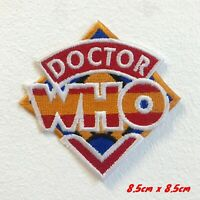 Doctor Who Series Logo Iron on Sew on Embroidered Patch #1699