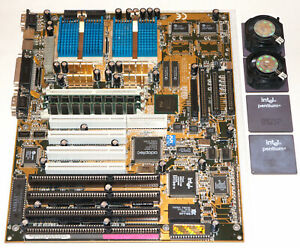 Dual Socket 7 Pentium Gigabyte GA-586DX motherboard set