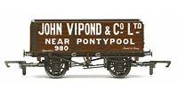 Hornby R6812 'John Vipond & Co Ltd' Blackpool 7 Plank SWB Freight Wagon OO Gauge