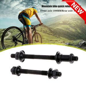Axle Hollow Spindle MTB Bike Bicycle Wheel Front Rear Quick Release QR