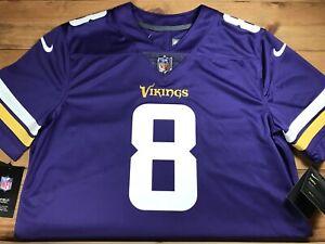 Nike Vapor Untouchable Minnesota Vikings Kirk Cousins Jersey 850903-556 Size M