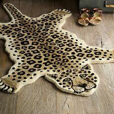 Rug USA Leopard Skin Shape 3' x 5' Handmade Tufted 100% woolen Rugs & Carpets