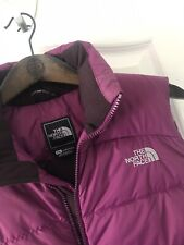 North Face Women's Ladies Purple Gilet Body Warmer Coat Jacket Medium M 700