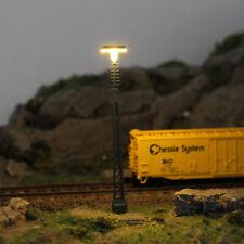 LQS64N 3pcs Model Railway 1:87 Street Lights Layout N Scale Lamp