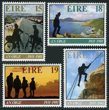 Ireland 498-501, MNH. Youth Hostel Assn.50th ann. Bicycling,Hiking,Climbing,1981