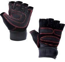 Weightlifting Biking Sports Half Finger Shockproof Protection Gloves