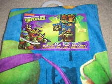 Brand New Teenage Mutant Ninja Turtles 2 Piece Bath Set Towel and Washcloth