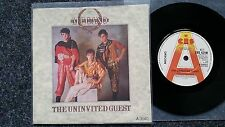 Mecano - The uninvited guest UK PROMO 7'' Single SUNG IN ENGLISH