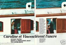 Coupure de presse Clipping 1994 Caroline de Monaco et Vincent Lindon (4 pages)