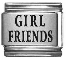 Clearly Charming Girl Friends Laser Italian Charm
