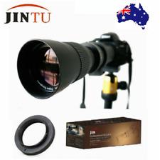 JINTU 420-800mm Telephoto Lens for Nikon D7500 D7200 D5600 D5500 D3400 D500 D90