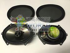 Phoenix Gold Z57CX Z Series 5x7 Car Door Shelf Coaxial Speakers 35w RMS