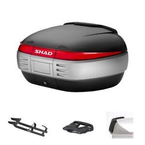 Set SHAD Bauletto SH50 + Dachträger Für BMW 1200 R Rt 2014-2018