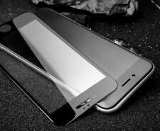 Para iPhone 8 9H 5D Cristal Templado Film de borde curvado Completo Protector de Pantalla Negro