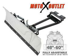 "Kolpin Switchblade Atv Snow Plow Adjustable 48"" 60"" Blade Complete Universal Kit"