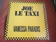 Vanessa Paradis – Joe Le Taxi Polydor uk 3 TRACKS MIXS Vinyl 12inch 1988##UK.