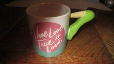 Shoe Love Is True Love Coffee Cup Mug Clay Art