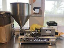 Tabletop Cream Paste Piston Filler 250 Ml High Viscosity Model Fp 250 D