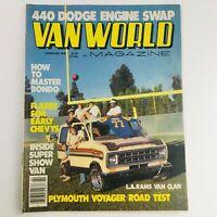 Van World Magazine February 1978 440 Dodge Engine Swap & Plymouth Voyager Test