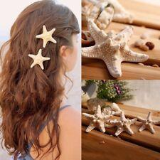 Schick estrellas de mar accesorios elásticos del pelo horquilla pinza de pelo