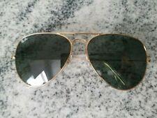 Ray-Ban Aviator Sunglasses RB 3026 gold Frame Classic green Lens 62mm