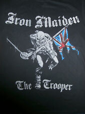 IRON MAIDEN The Trooper OFFICIAL T-Shirt NWOBHM Heavy Metal PRAYING MANTIS