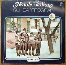 GLI ZAMPOGNARI NATALE ITALIANO TU SCENDI DALLE STELLE LP MINT 1979 FOLK ITALY