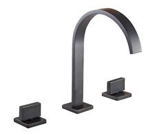 oil rubbed bronze widespread bathroom sink faucet basin vanity mixer tap