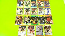 Vintage mixed sports cards, NFL, NBA, NHL, NASCAR, horse racing, 62 total cards
