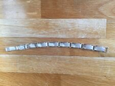 Tiffany & Co Men's Solid Sterling Silver Bracelet. Rectangle Links Rare