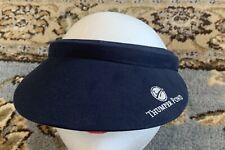Thumper Pond Ottertail MN Resort Golf Visor Hat NAVY One Size