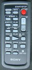 Sony Fernbedienung RMT-831 für Camcorder DCR-VX100, DCR-VX700, DCR-VX1000 Remote